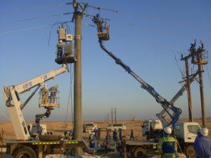 33kV OHL Autorecloser installation works