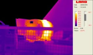 Motor Thermal imaging