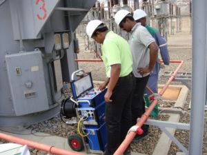 Substation Transformer Testing