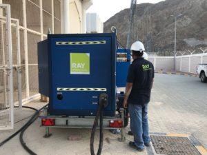 Transformer oil filteration works