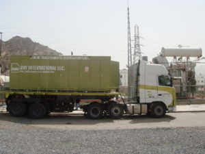 Transformer oil regeneration works